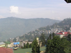 Gangtok, A city in the Hiamalyan mountains