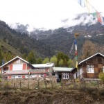 The house in lachung