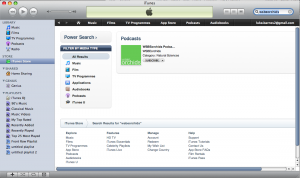 Proof that we're on iTunes!